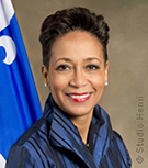 Photo of Minister Nadine Girault