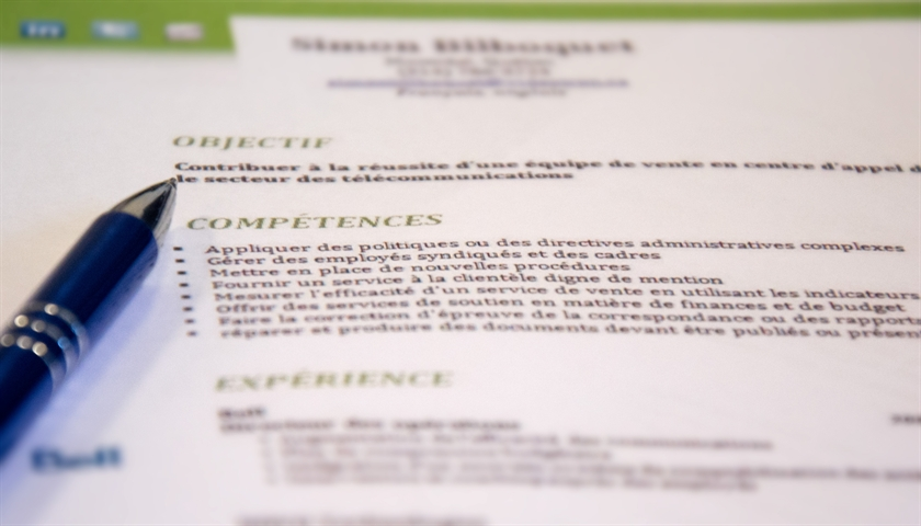 resume format  lettre de motivation et cv quebec