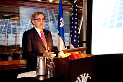 Michael Sabia speaks at New York-Montreal Luncheon Seminar